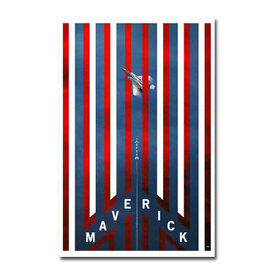 RT012 New Top Gun Maverick Movie Film 2020 Comic Poster Art Print Decor