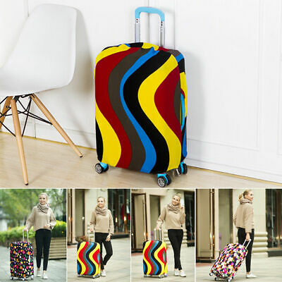 Colorful Suitcase Luggage Cover Travel Trolley Case Baggage Protector