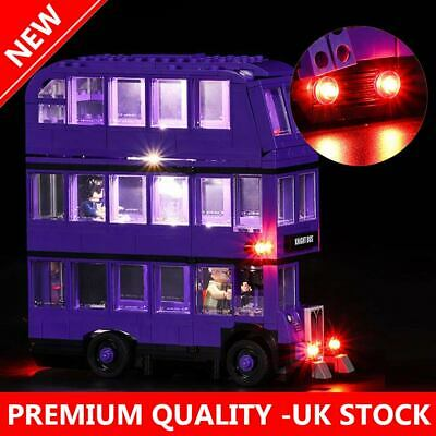 New LED Light Up Kit For LEGO 75957 The Knight Bus Lighting building Set kit Bus