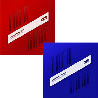 ATEEZ TREASURE EPILOGUE:ACTION TO ANSWER Album CD+POSTER+PhotoBook+Card+etc+GIFT
