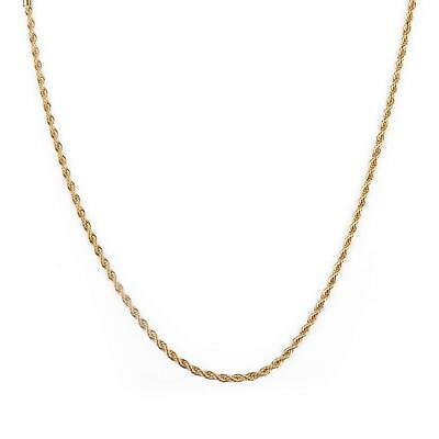 Sland Gold Chain Necklace for Men and Women 18K Real Gold Plated Stainless Steel