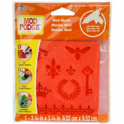 Mod Podge Royal Icons Mold, Red