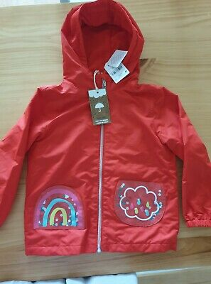 New Next fleecy waterproof jacket 3-4