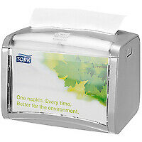 TORK Xpressnap Tabletop Napkin Dispenser One-at-a-Time Grey Ref 272613 - 272613