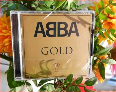 """Abba/Best of New Sealed Freepost """"Gold Greatest Hits"""" CD Mamma Mia/Dancing Queen"""