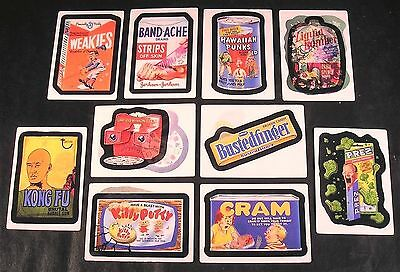 2008 Topps Wacky Packages Flashback Series 2 LENTICULAR MOTION CARDS SET of 10