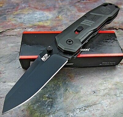 Smith & Wesson Tactical EDC Assisted Open AUS-8 Blade Folding Pocket Knife NEW
