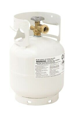Empty Propane Gas Cylinder Overfill Protection Device Valve Tank Durable 30 lb.