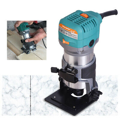 850W 10000-30000RPM Variable Speed Soft Start Compact Router Kit stone process
