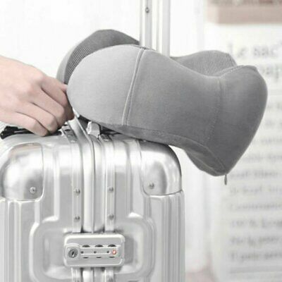 Travel Pillow Memory Foam U shaped Neck Support Head Rest Airplane Soft Cushion@