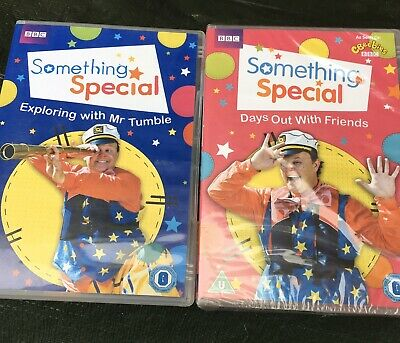 BBC CBeebies Something Special Mr Tumble Dvds X2 Exploring Days Out With Friends