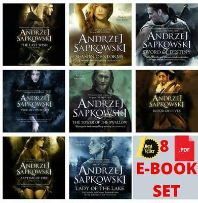 The Witcher Book Series by Andrzej Sapkowski (digital version, P.D.F )