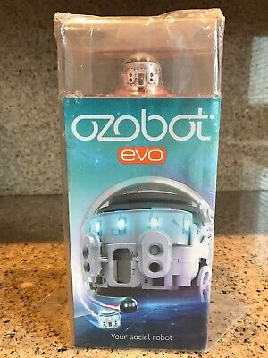 Programmable Robot Toy Titanium Black New Your Social Robot Ozobot EVO