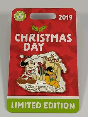 Disney Pin Trading Disney World 2019 Christmas Day Limited Edition Pin