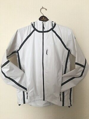 Columbia Titanium Out Dry Outdry White M Medium Rain Jacket Shell