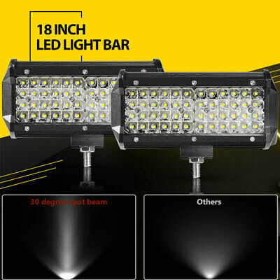 """6x 8/"""" Inch Clear Cover Lens for OFF ROAD LED Light Bar  8/'/'-40/'/'48W-288W"""