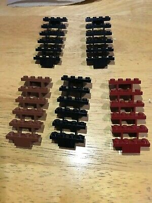 LEGO Reddish Brown Open Stairs Staircase Part