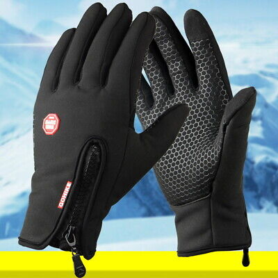 Men Women Winter Warm Windproof Touch Gloves Thermal Waterproof Mittens Screen