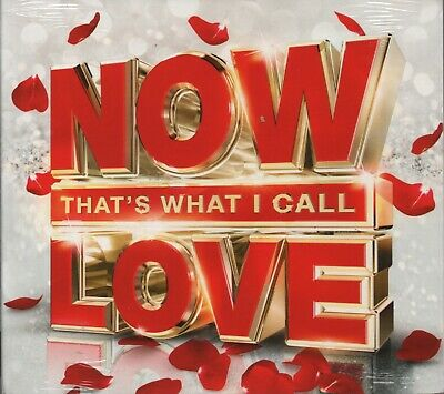 NOW THAT'S WHAT I CALL LOVE - CD album (3 CDs, 61 tracks - New & sealed)