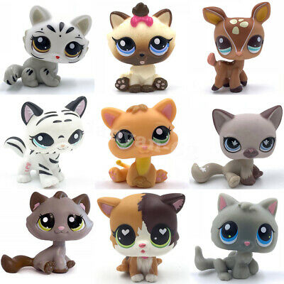 Old littlest pet shop cats and dogs cute kitty and puppy lot lps toy for girls