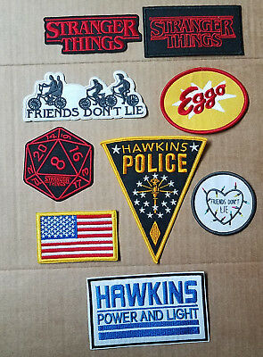 Stranger Things Patches. Your choice