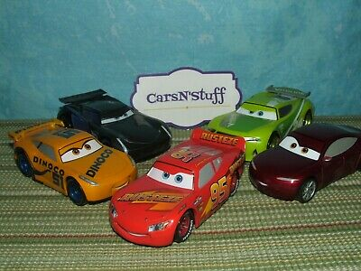 Disney Store Pixar Cars 3: Cruz, Miss Fritter, McQueen & More *Displayed Only*