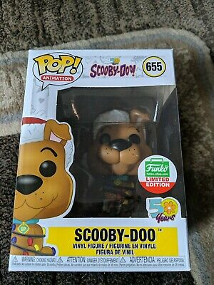 FUNKO POP SCOOBY-DOO w// CHRISTMAS LIGHTS CYBER MONDAY LIMITED SHOP EXCLUSIVE