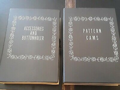 Kenmore Sears Pattern Cams & Sewing Machine Accessories in Cases