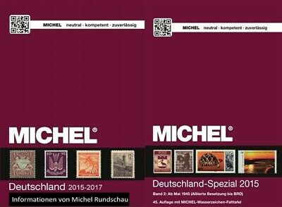Michel 2017-2019 ASIA, AUSTRALIA, CARIBBEAN IS, GERMANY. Catalogue 19 COUNTRIES