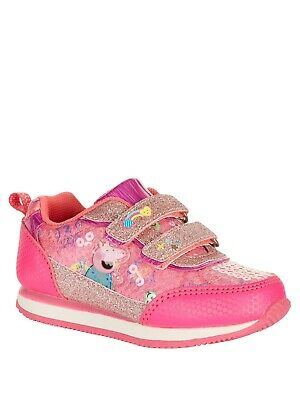 Peppa Pig Toddler Girls' Athletic Retro Jogger Sneaker  Size 9