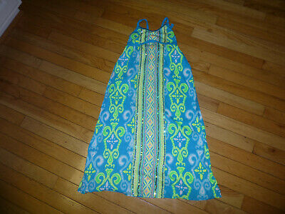 Justice Youth Girls Maxi Dress Size 6 Adorable