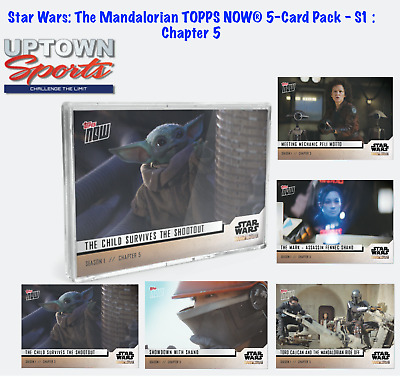 Star Wars: The Mandalorian TOPPS NOW® 5-Card Pack - S1 : Chapter 5