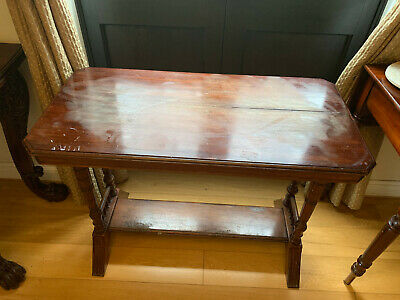 Mahogany Console Side End Hall Dressing Table