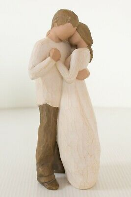 Willow Tree Promise by Susan Lordi Large Free Post Couple Man Women