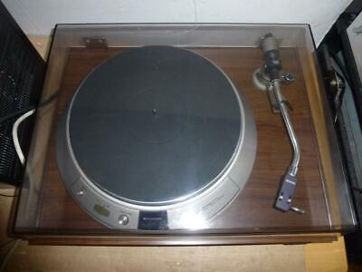 Denon DP-2000 Quartz Direct Drive Turntable Japan Made-Full Working Order-WOW