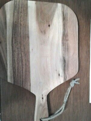 Wooden Cutting Board 14 x 9 x 1/2 Inch Hanging Cord New