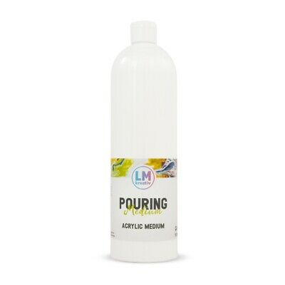 Pouring Medium 1l Transparent, Gieß-Farbe Acrylic-Pouring Dirty-Pouring Flip Cup