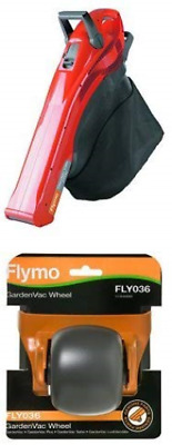 Flymo GardenVac 2700 W Electric Garden Blower Vacuum with Garden Vac Wheel -
