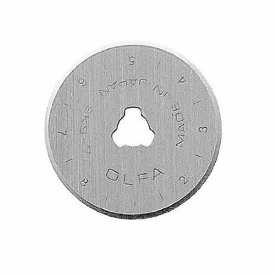 OLFA 28 mm 1-Piece Stainless Steel Blades Pack of 10