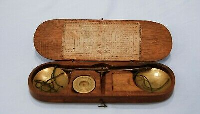 18th Century French Revolution Wooden Scales & Weights France