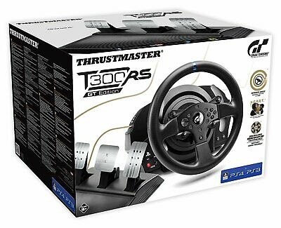 THRUSTMASTER T300 RS GT Edition (inkl. 3-Pedalset, PS4 / PS3 / PC), Lenkrad