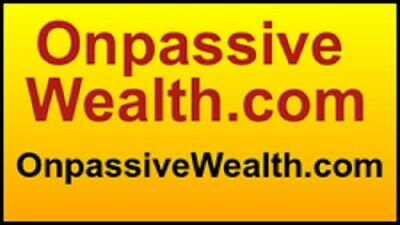 OnpassiveWealth.com - global domain name - Australian $1,197= USD $835