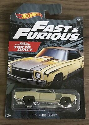 Hot Wheels '70 Monte Carlo The Fast And The Furious Tokyo Drift 1970 Chevrolet