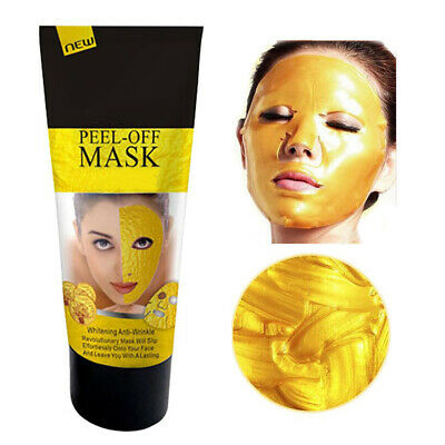 24K Gold Collagen Peel Off Face Spa Mask High Moisture Anti Aging Remove Wrinkle