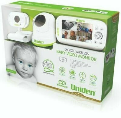 """Uniden Bw3451R+1 4.3"""" Wireless Baby Monitor For Remote Viewing Brand New"""