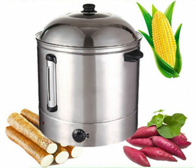New Commercial 48L commercial temperature conroller food steamer snack steamer b
