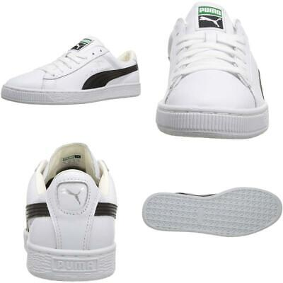 PUMA Mens Basket Classic Evoknit Fabric Low Top Lace Up Fashion Sneakers
