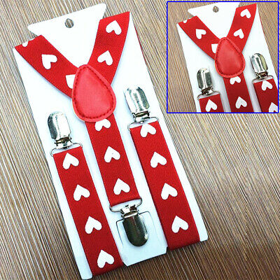 Children Suspenders Toddlers Kids Party Strap Trousers Suspenders Wedding