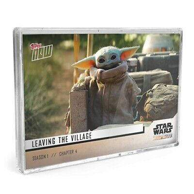 🏅Star Wars: The Mandalorian TOPPS NOW 5-Card Pack - S1 Chapter 4 Sanctuary Yoda