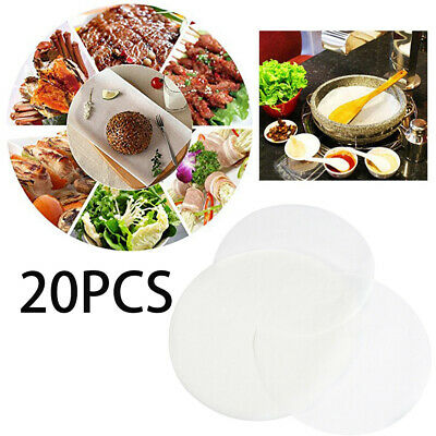 Home Kitchen Tools Parchment Food Liners Round Sheets Pan Bakware Baking Paper